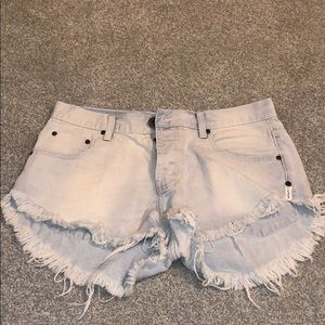 One Teaspoon Jean Shorts! New!